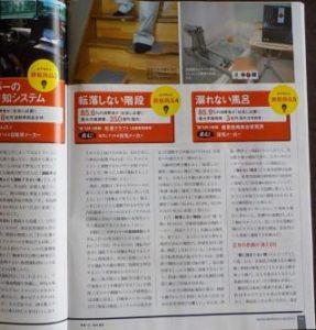 日経ビジネスに掲載された私の足