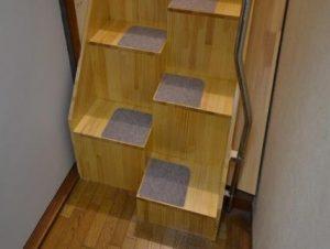 ゆるゆる階段 下部写真 斜め