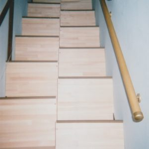 ゆるゆる階段山口県M様 上側から階段全景2