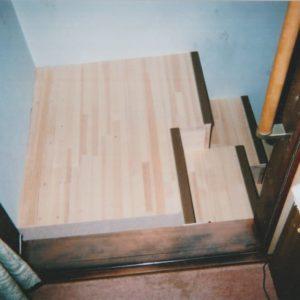 ゆるゆる階段山口県M様 上側からお部屋から